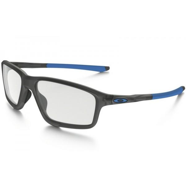 clear frame oakley sunglasses z8v7  fake Oakley Crosslink Zero eyewear Satin Gray Smoke frame / clear lens,  knockoff Oakley sunglasses