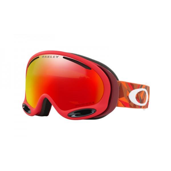 a392602a937 Cheap Oakley A Frame 2.0 Snow Goggle Facet Red Brick frame   Prizm ...