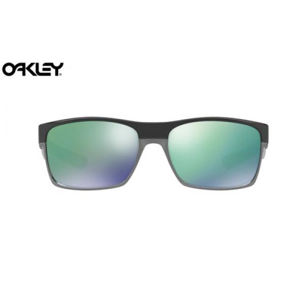 1c8632a604 Cheap Oakley TwoFace sunglasses Polished Black frame   Jade Iridium ...