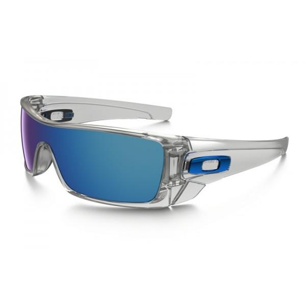 fake oakley batwolf sunglasses clear frame ice iridium lens rh bestfakestore com