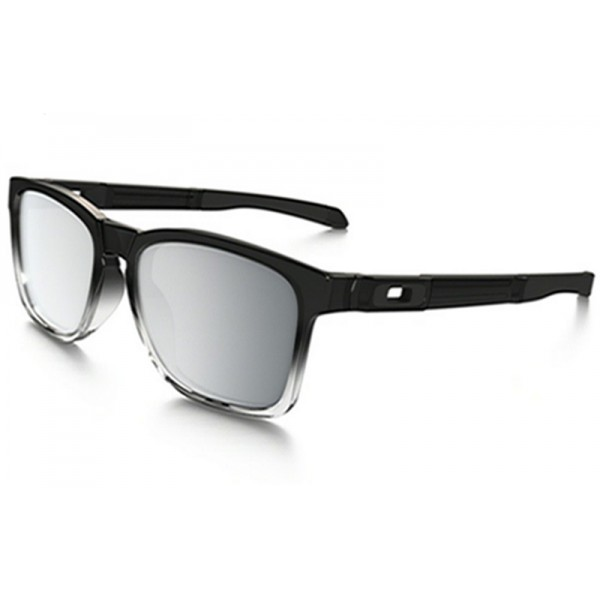 23121a769b6 Outlet Oakley Catalyst sunglasses Grey Ink Fade frame   Chrome ...