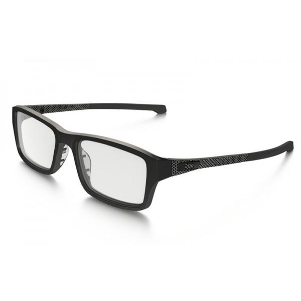21a93a4b3f258 fake Oakley Chamfer eyewear Satin Black frame   clear lens