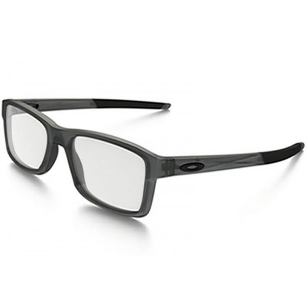 03d50c6ca86e7 outlet Oakley Chamfer(TruBridge) eyewear Satin Gray Smoke frame ...