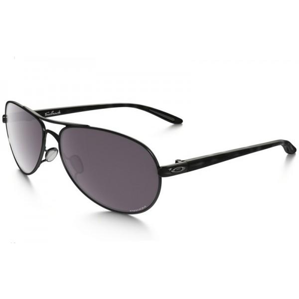 226dcba210 cheap Oakley Feedback PRIZM sunglasses polished black frame   Prizm ...