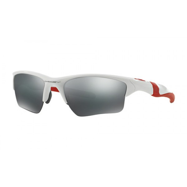 a6d90888ea Fake Oakley Half Jacket 2.0 XL sunglasses Polished White frame ...