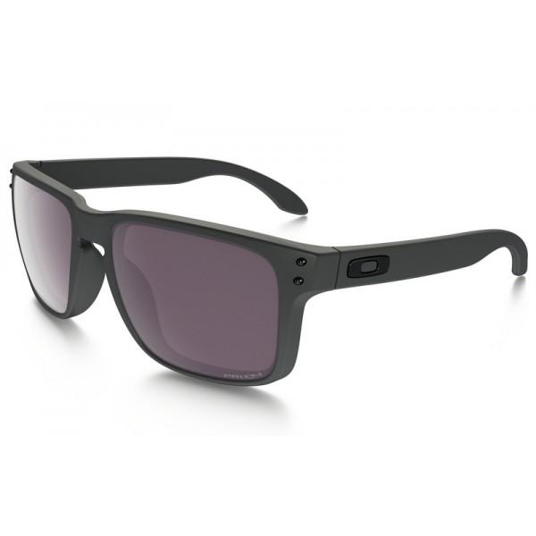 4a161b63b8e06 replica Oakley Holbrook PRIZM sunglasses Steel frame   Prizm Daily ...