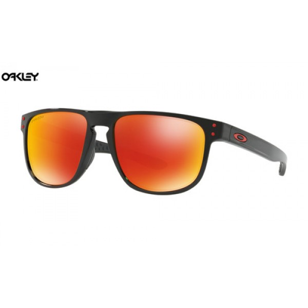 75f8afea4c Fake Oakley Holbrook R sunglasses Polished Black frame   Prizm Ruby ...