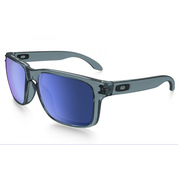 9e7c357fa94 discount Oakley Holbrook sunglasses crystal black frame   ice ...