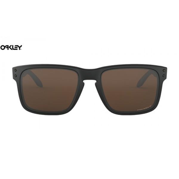 888abde8fa Fake Oakley Holbrook sunglasses Matte Black frame   Prizm Tungsten ...