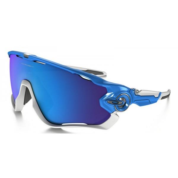 6f356e8bde2 knockoff Oakley Jawbreaker sunglasses Sky Blue frame   Sapphire ...