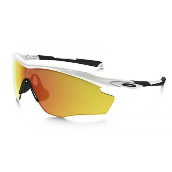 033a4566a10 replica Oakley M2 Frame sunglasses polished white frame   fire ...