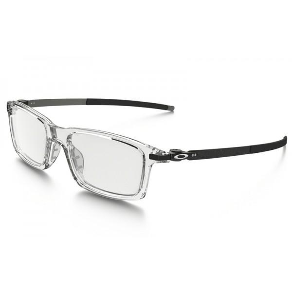 94b81a0851 Best fake Oakleys Pitchman eyewear Clear frame   Clear lens(Asia Fit ...