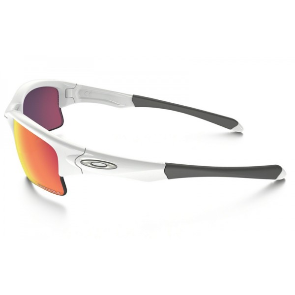 b7dca5c5fcf replica Oakley Quarter Jacket (Youth Fit) PRIZM sunglasses white ...