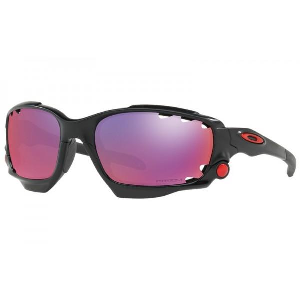 cheap fake oakley racing jacket prizm road sunglasses matte black rh bestfakestore com