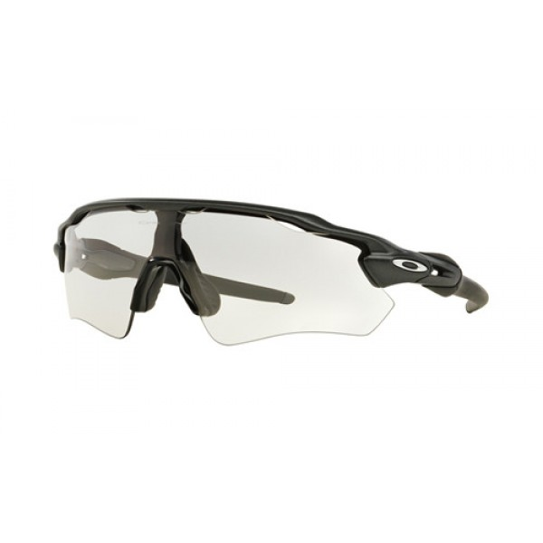 1f1603990f2 Fake Oakley Radar EV Path sunglasses Steel frame   Clear Black ...