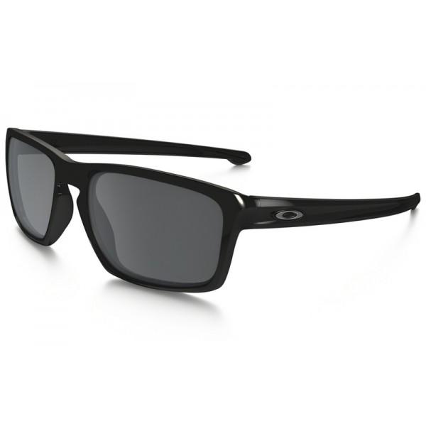 5cea529744 Knockoff Oakley Sliver Polarized sunglasses - Polished Black frame ...