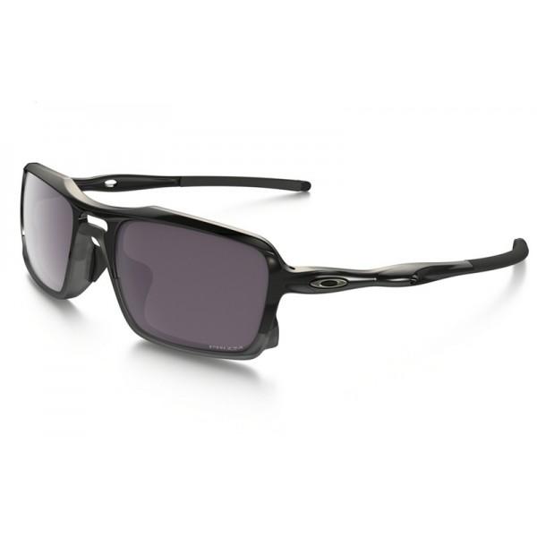 ccbe9c2067 fake Oakley Triggerman PRIZM sunglasses polished black frame   Prizm ...
