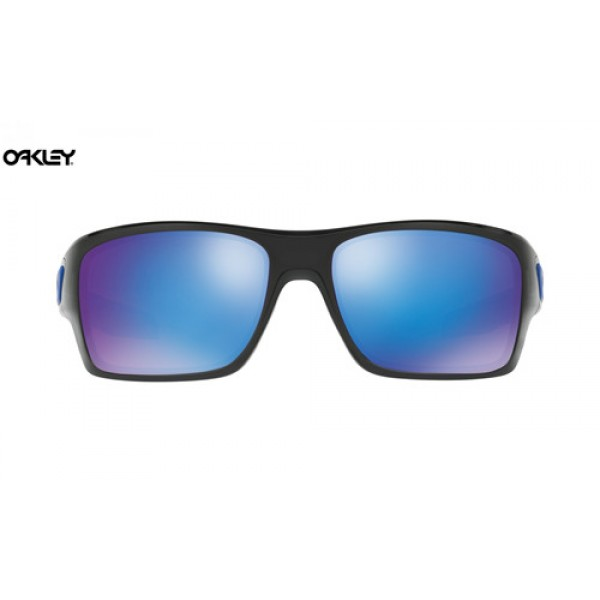 2a552ef7440 Fake Oakley Turbine sunglasses Black Ink frame   Sapphire Iridium ...
