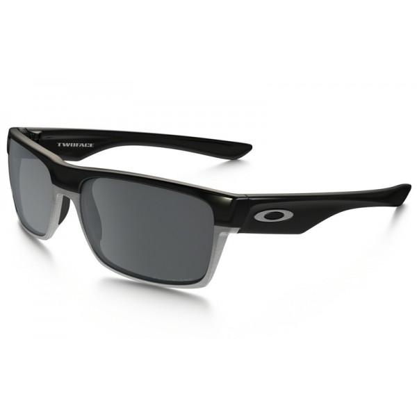 4af98fbdd4b Knockoff Oakley TwoFace Polarized sunglasses Polished Black frame ...