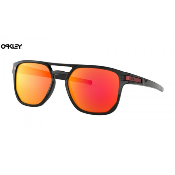11da94e2c8 Knock off Oakley Latch Beta sunglasses Polished Black frame   Prizm ...