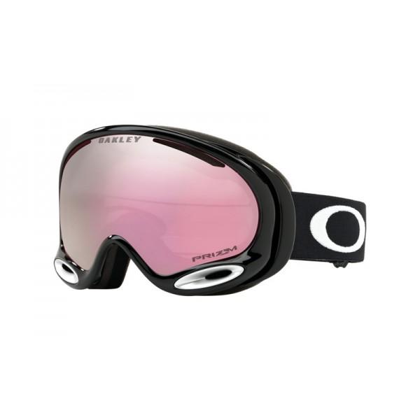 2e1cd75bbff Knockoff Oakley A Frame 2.0 Snow Goggle Jet Black frame   Prizm Snow ...