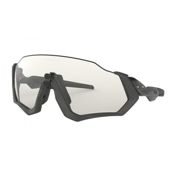 270f82ebda Knockoff Oakley Flight Jacket sunglasses Gray Ink frame   Clear ...