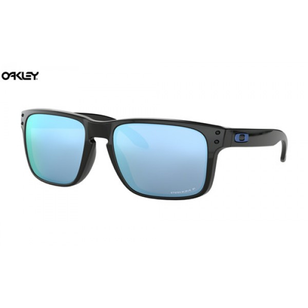 52ac6d2aa6 Knockoff Oakley Holbrook sunglasses Polished Black frame   Prizm ...