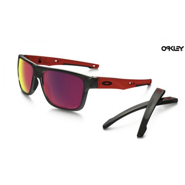 Replica Oakley Crossrange sunglasses Black Ink frame / Prizm Road ...