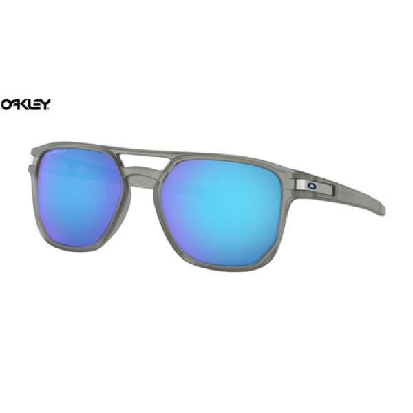 8df461596b Replica Oakley Latch Beta sunglasses Matte Grey Ink frame   Prizm ...