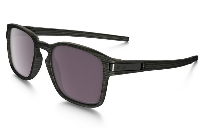 94112da1ea fake Oakley Latch Square PRIZM sunglasses Woodgrain frame   Prizm Daily Polarized  lens