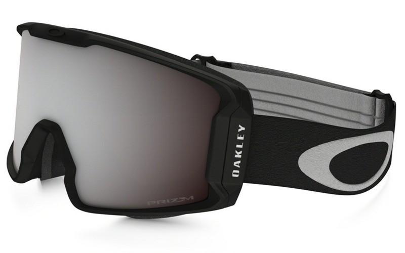 fake Oakley Line Miner Goggle Matte Black frame   Prizm Snow Black Iridium  lens aa5384d542