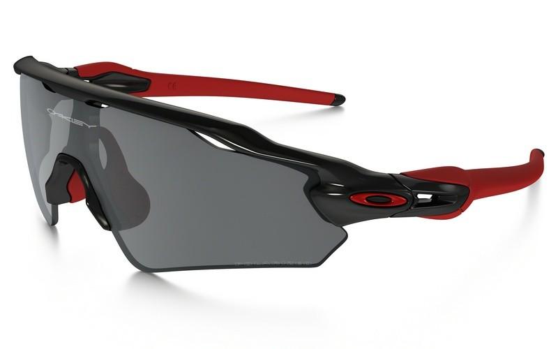 86a26fba953 Discount Oakley Radar EV Path Polarized sunglasses Polished Black frame    Black Iridium Polarized lens