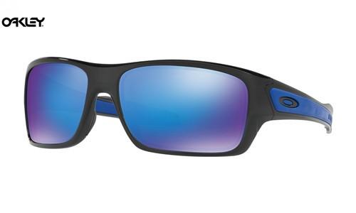 030f299c8b3 Fake Oakley Turbine sunglasses Black Ink frame   Sapphire Iridium lens