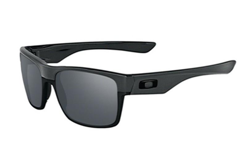 c66e4959ce002 replica Oakley TwoFace sunglasses steel frame   black iridium lens ...