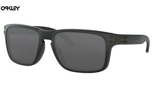 0fc0b35b678 Knockoff Oakley Holbrook sunglasses Matte Black frame   Black Iridium lens