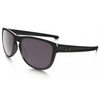87180b1f302 Oakley Sliver Round PRIZM sunglasses polished black frame   Prizm Daily  Polarized lens