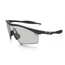 eb5bb13c37e Oakley M Frame sunglasses black frame   clear lens